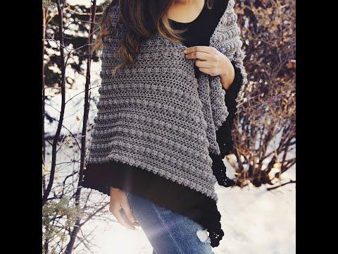 Crochet Shawl Tutorial