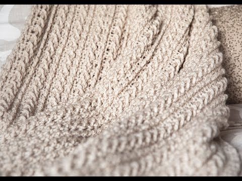 Braided Throw Tutorial (Liza Throw)