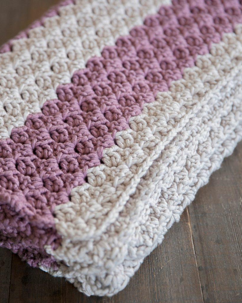 Free Chunky Crochet Throw Pattern - Leelee Knits