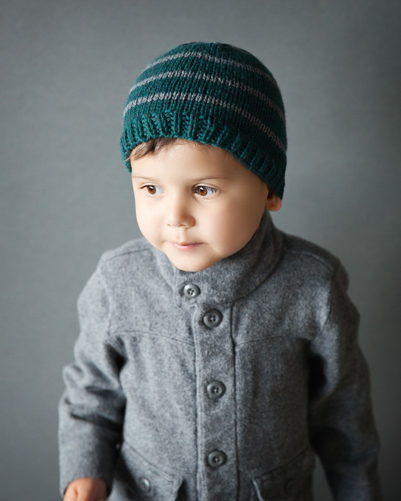 Knitting Pattern For A Toddlers Beanie : Free Toddler Beanie Knitting Pattern - Leelee KnitsLeelee ...