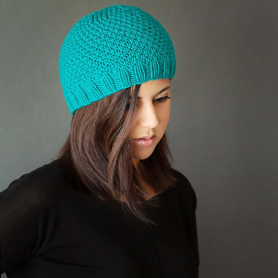 Free Knitted Beanie Patterns For Kids : Free Modern Knit Beanie Pattern - Leelee KnitsLeelee Knits
