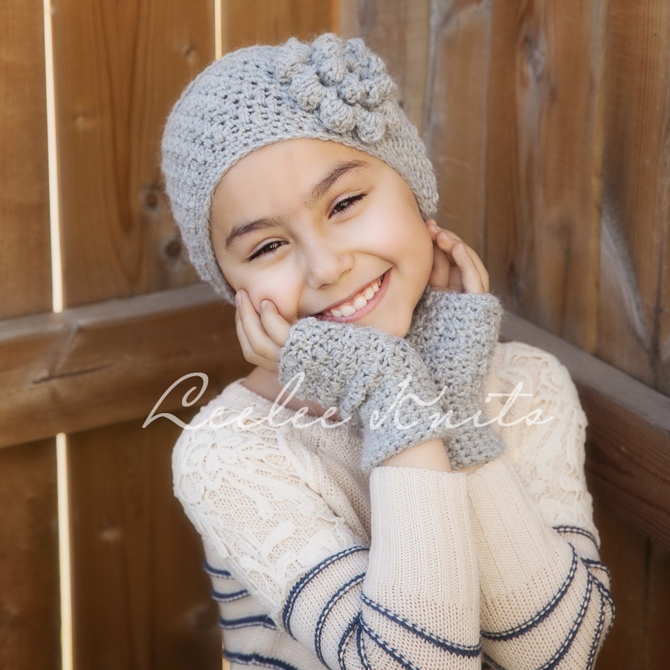 Headband and Hand Warmers Crochet Pattern - Leelee Knits 3f93761fa57