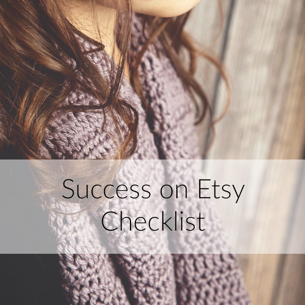 Successful selling on etsy checklist leelee knits for Best selling home decor etsy
