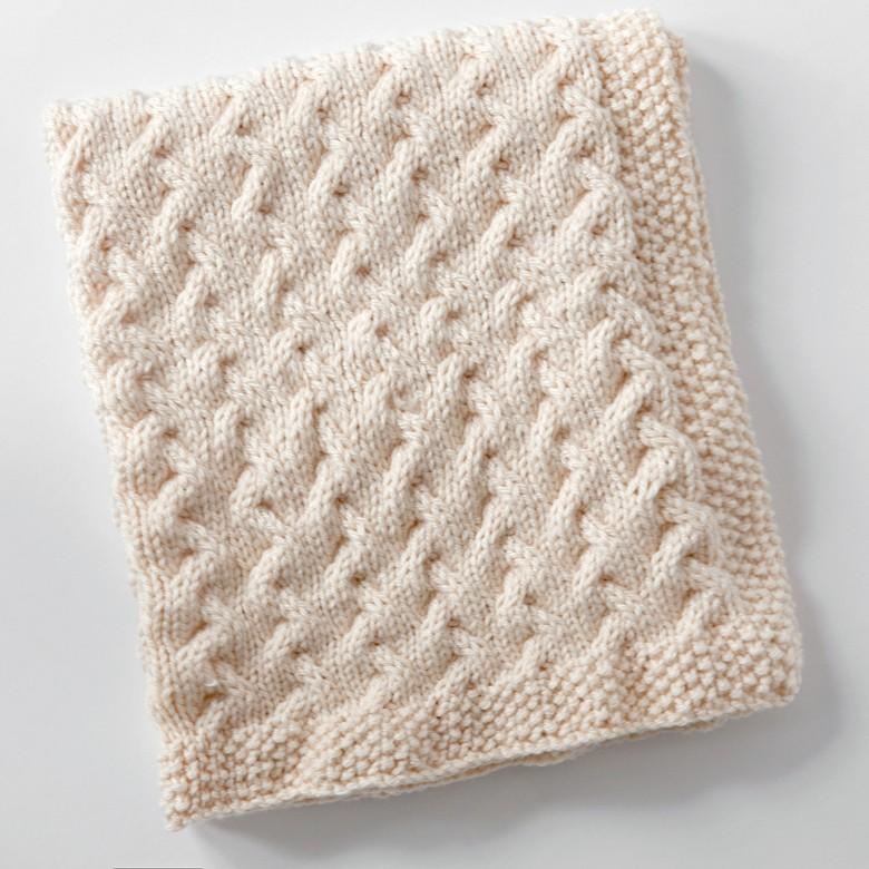 Free Baby Blanket Knitting Pattern 2