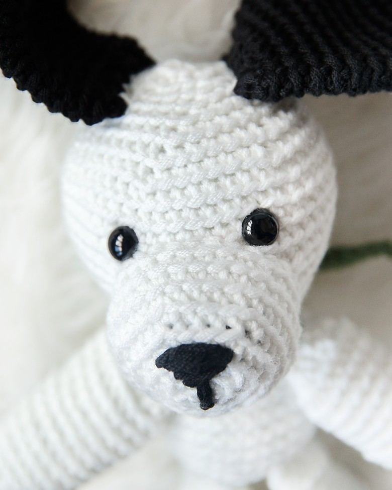 Free Crochet Puppy Pattern 1