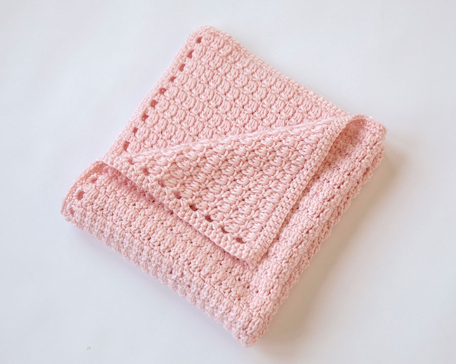 Crochet Patterns Of Baby Blankets : Leelee Knits Blog Archive Cozy Clusters Free Crochet ...