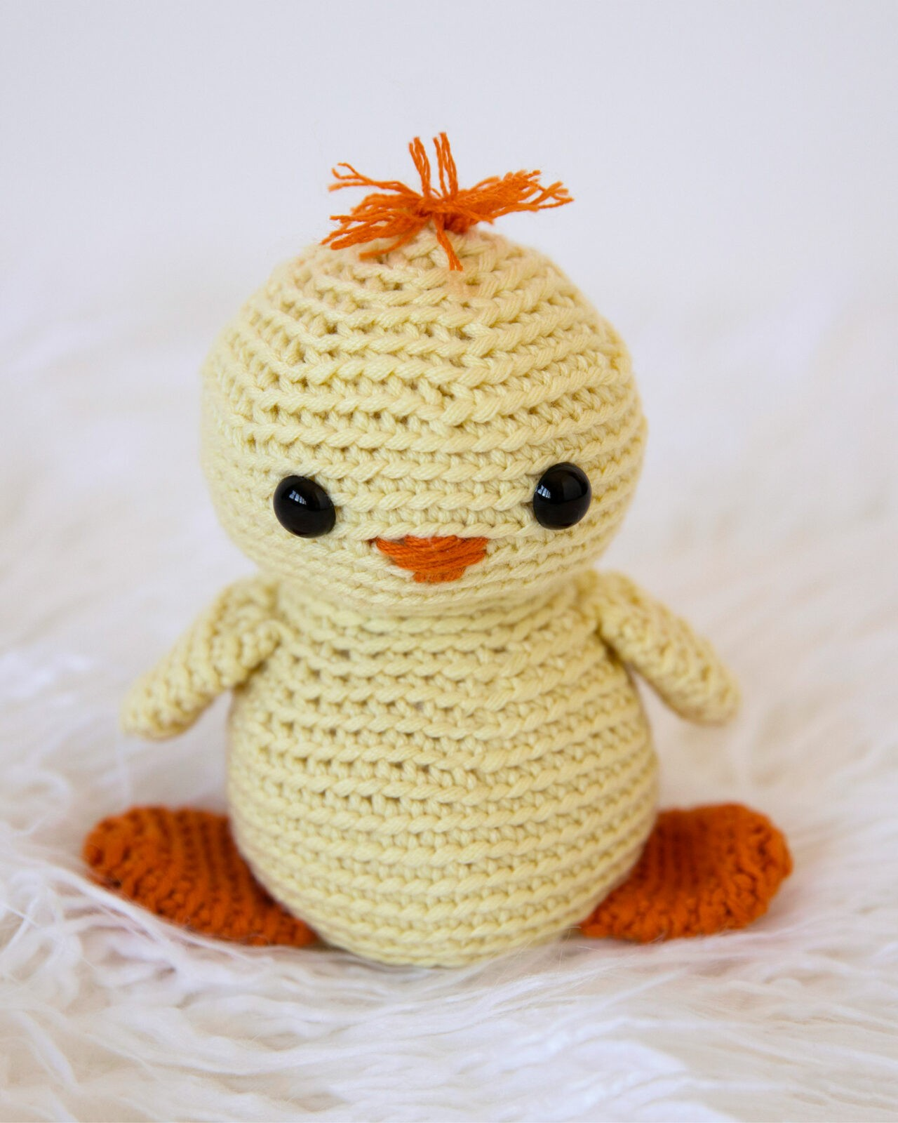 Baby Chick Crochet Pattern