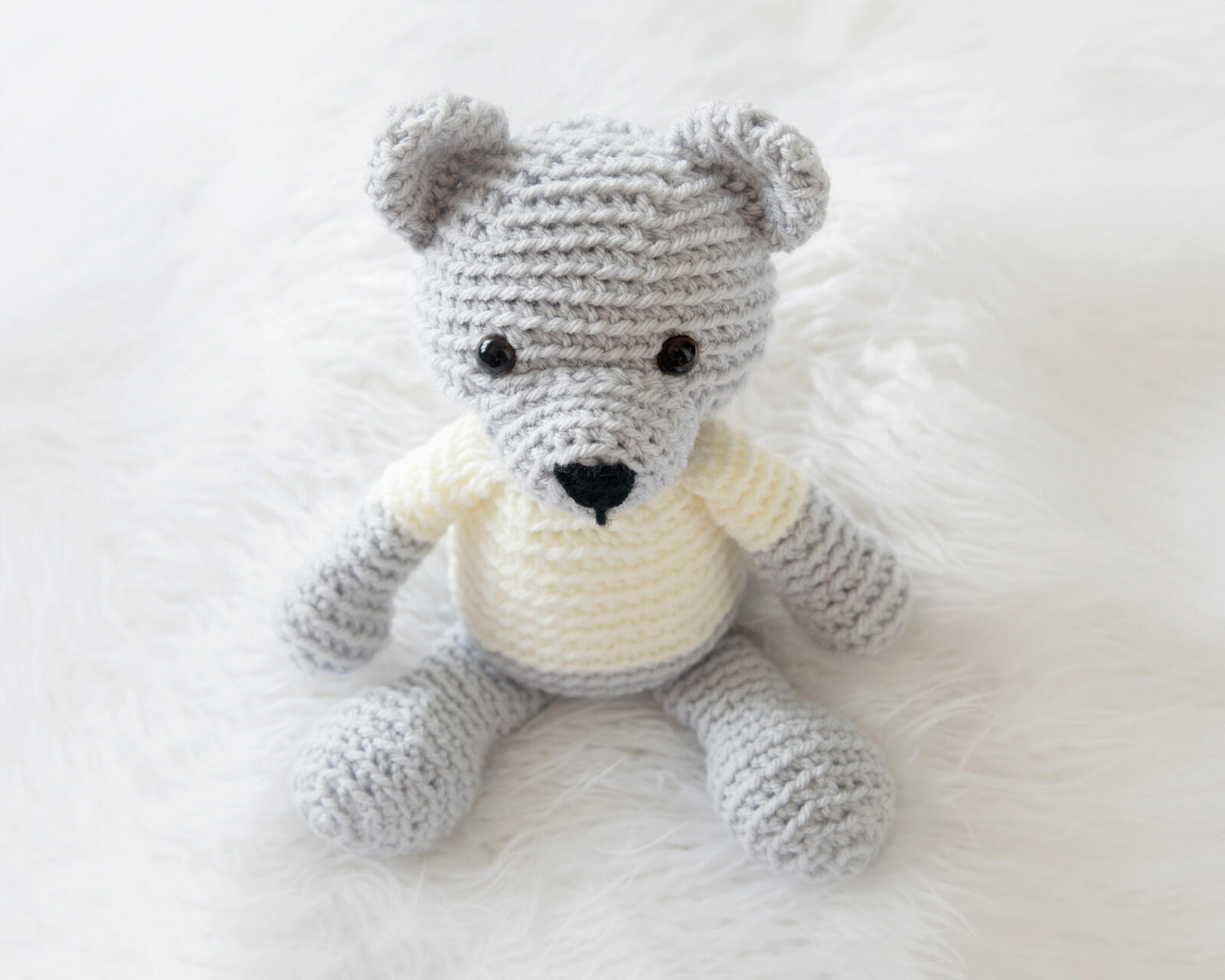 Amigurumi Free Patterns Bear : Crochet teddy bear free pattern! leelee knits