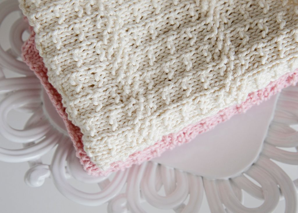 free knitted dish towel pattern