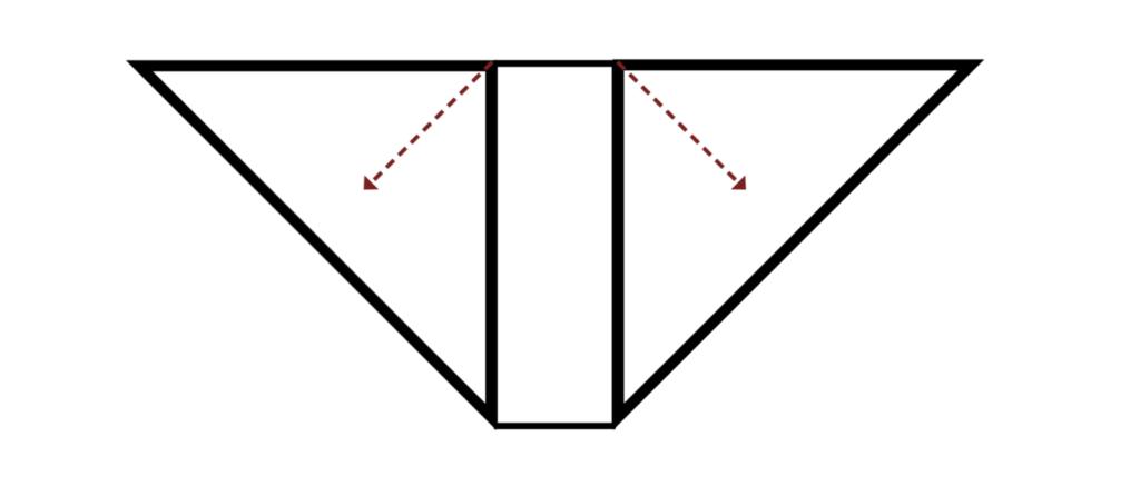 Beginner Knit Shawl Diagram