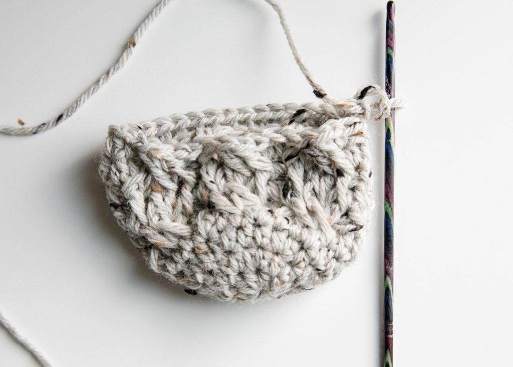 crochet slipper socks free pattern  toe