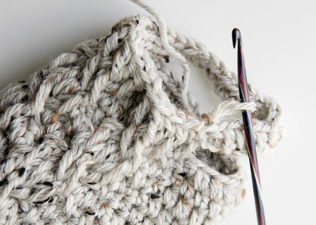 crochet slipper socks free pattern heel
