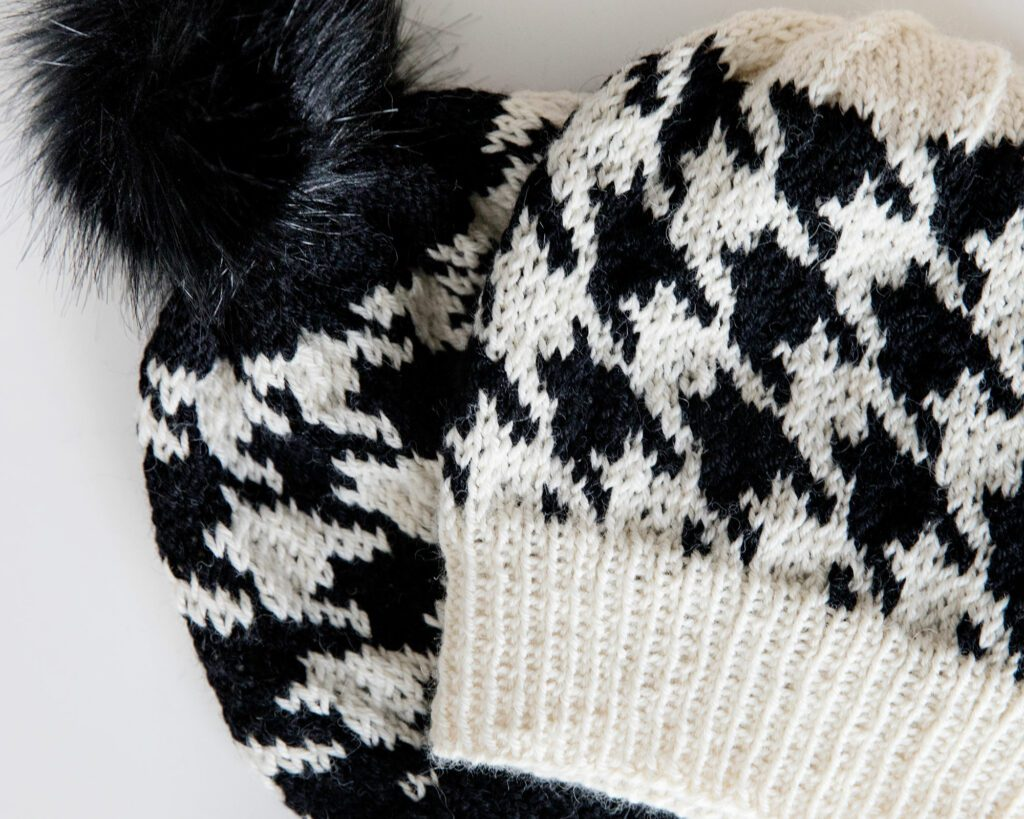 Houndstooth Knitting Pattern