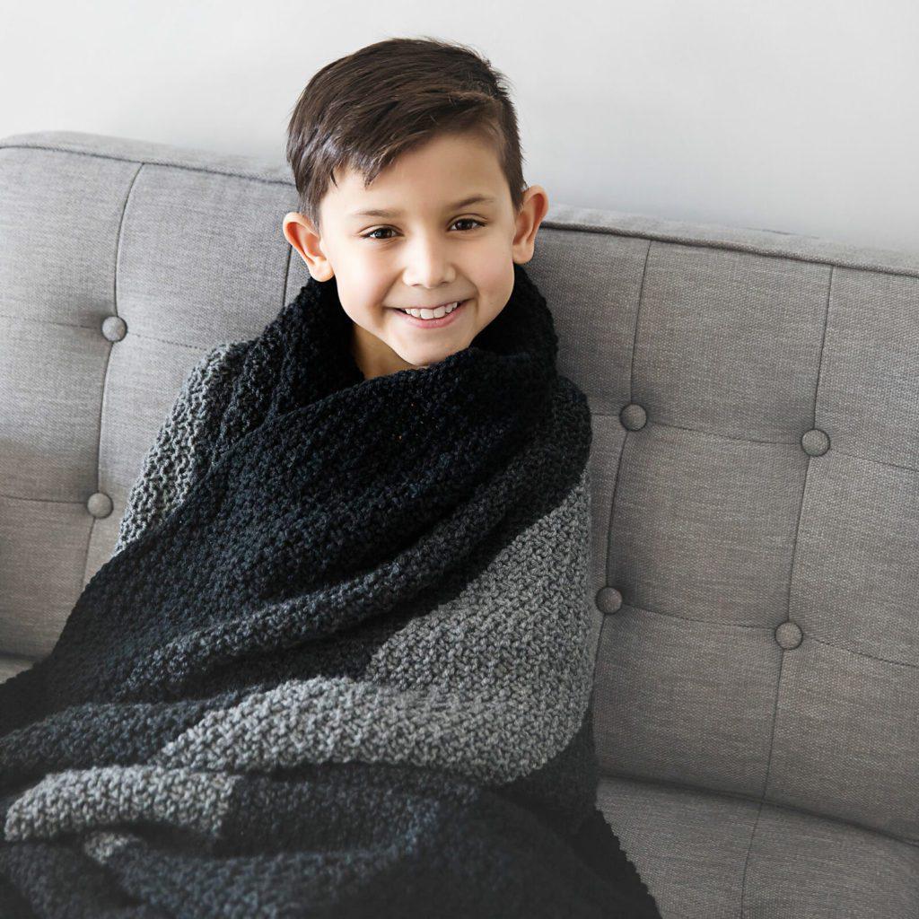 Beginner Friendly Knit Blanket Pattern