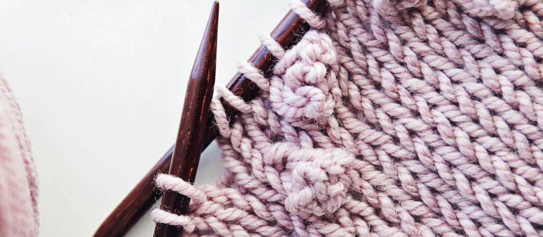 How to Knit a Bobble