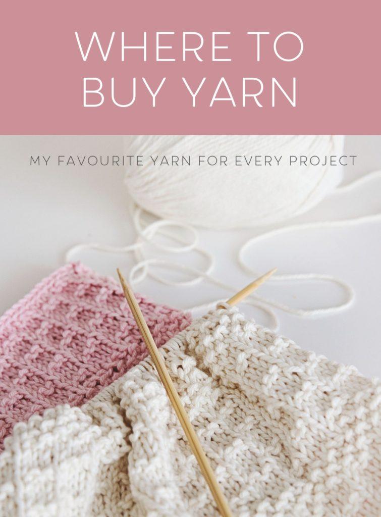 Where to Buy Yarn