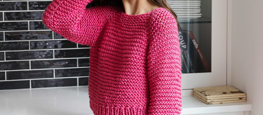 Chunky Knit Sweater Pattern – The Lazy-Day Pullover
