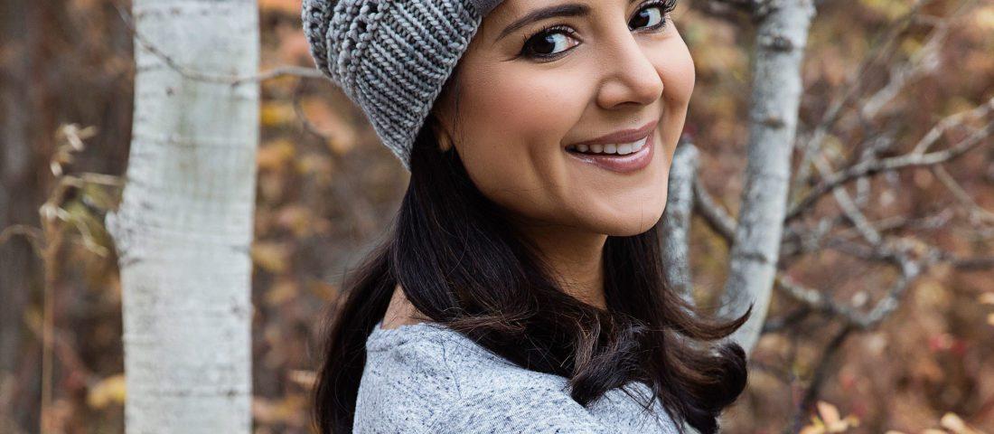 Free Fall Knit Hat Pattern – Peekaboo Beanie